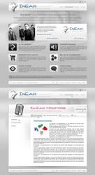 Website inear monitors by D72