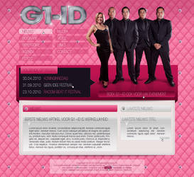 Website music band