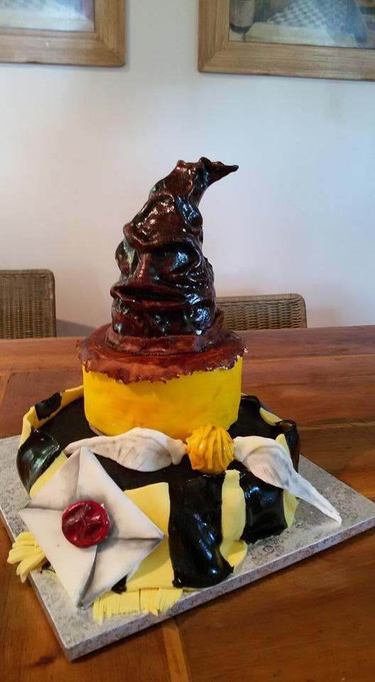 The Sorting Hat Cake