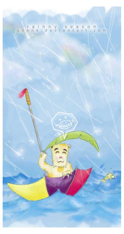 welcome rainny season by qbenk