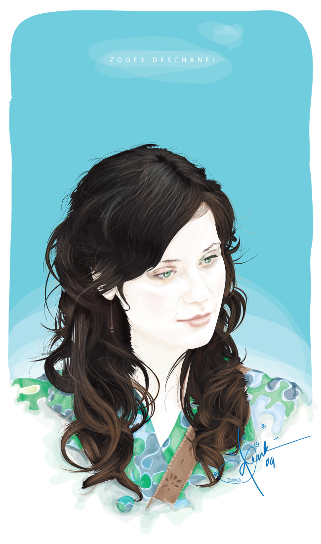 i love zooey by qbenk
