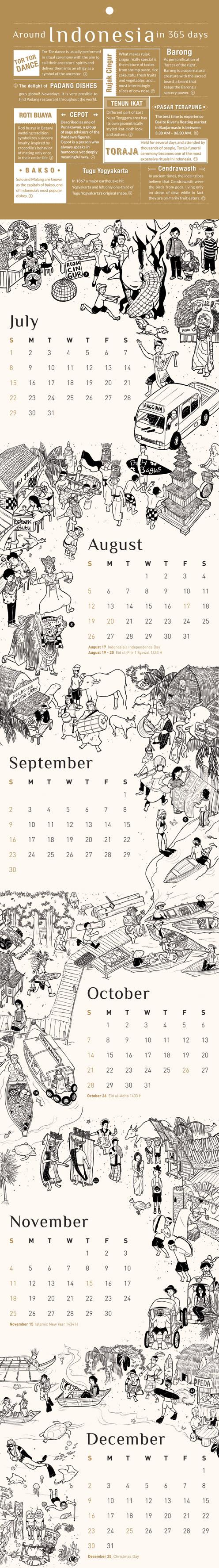 Kineto Calendar 2012 July - December by qbenk