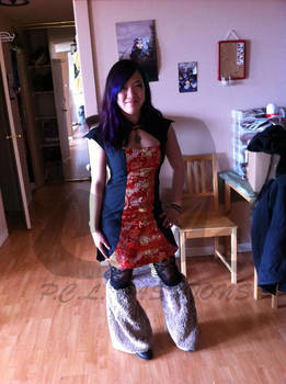 Qipao 02 (Mah going to a wedding dress!)