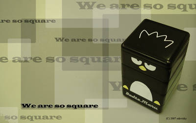 BG: We are so square by odevisky