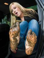 Jenny's Muddy Feet