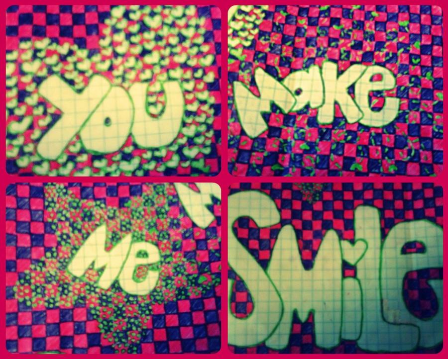 you make me smile by milishax3