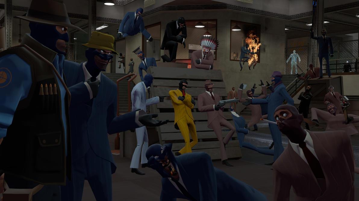 1st Anual meeting of Spy freaks by Kugawattan