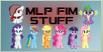 MLPFIMSTUFF stamp by ScarletBlitz