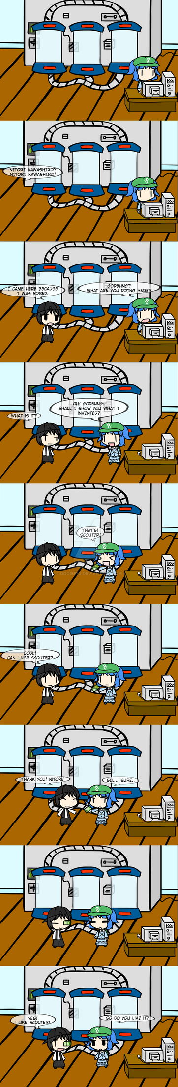 (walfas) What nitori invented by Godeung