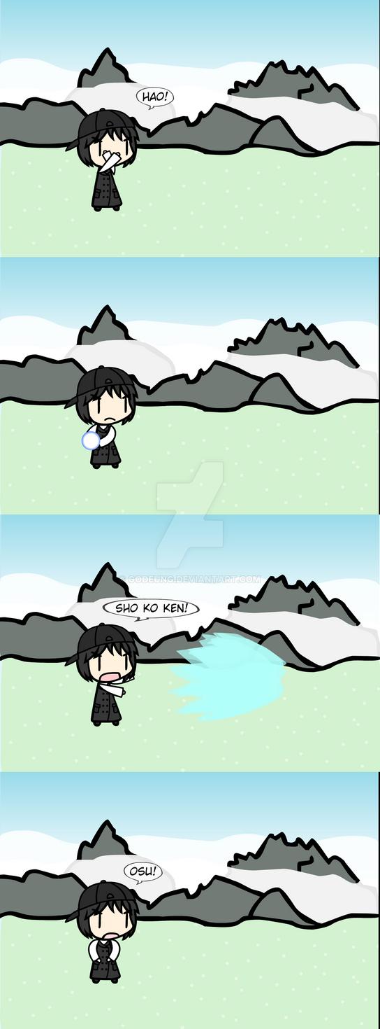 (walfas) HAO SHOKOKEN! by Godeung