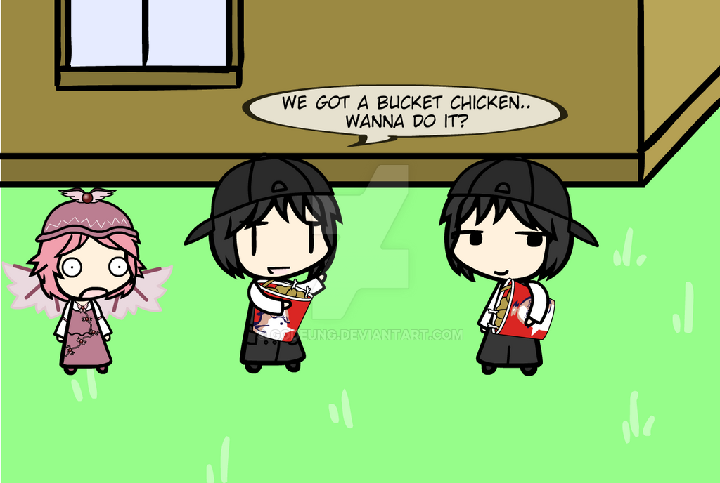 (walfas) Bucket chicken by Godeung