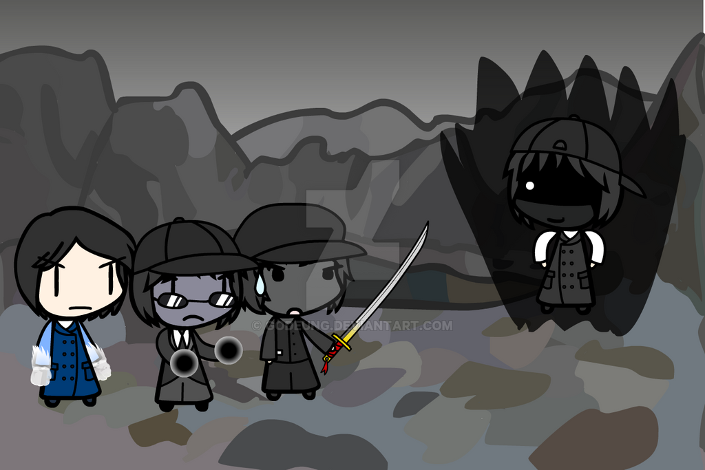 (walfas) Neo, Freek, Hiru VS Godeung (Dark) by Godeung