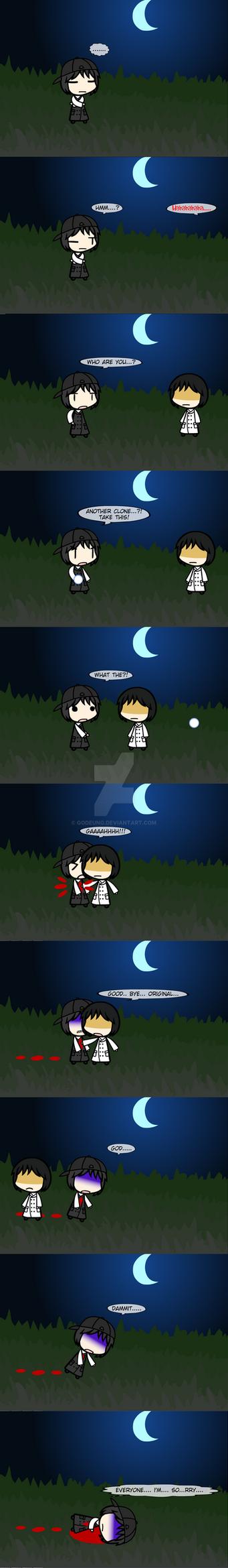 (walfas) A sudden fight by Godeung