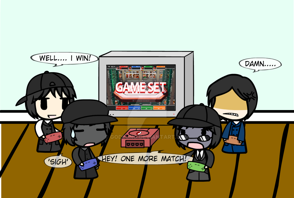 (walfas) Godeung team play river city melee by Godeung