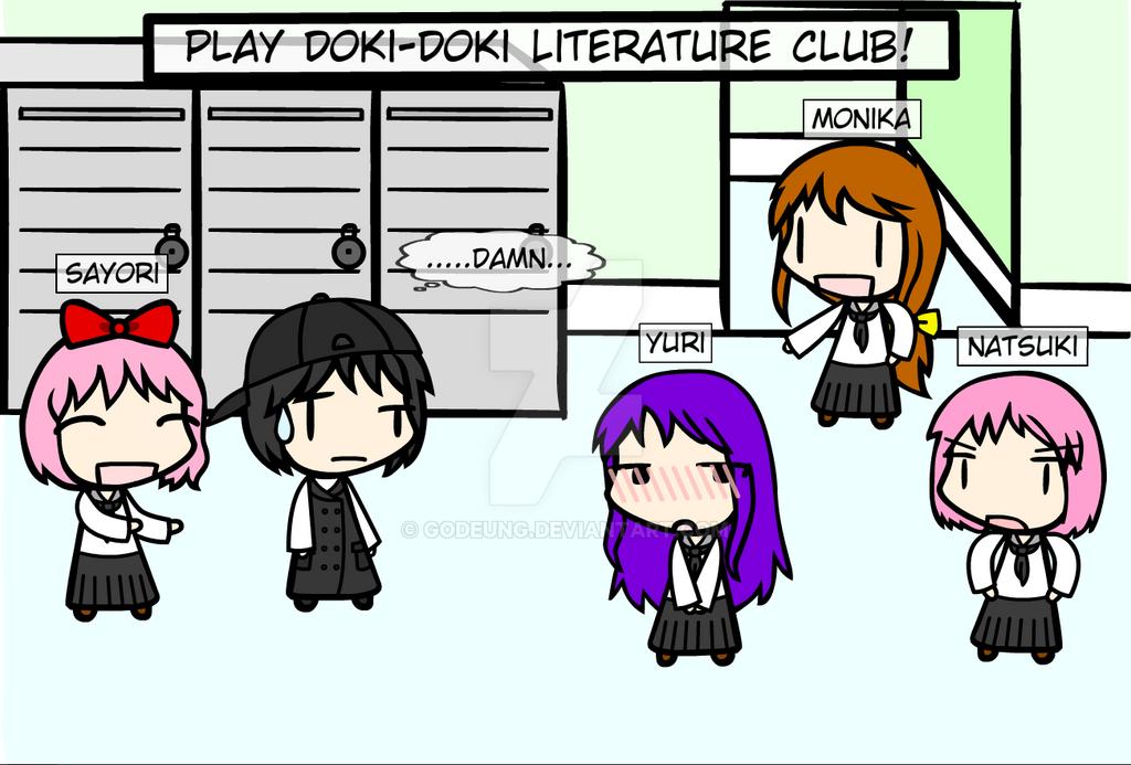 (walfas) Doki-Doki Literature club! by Godeung