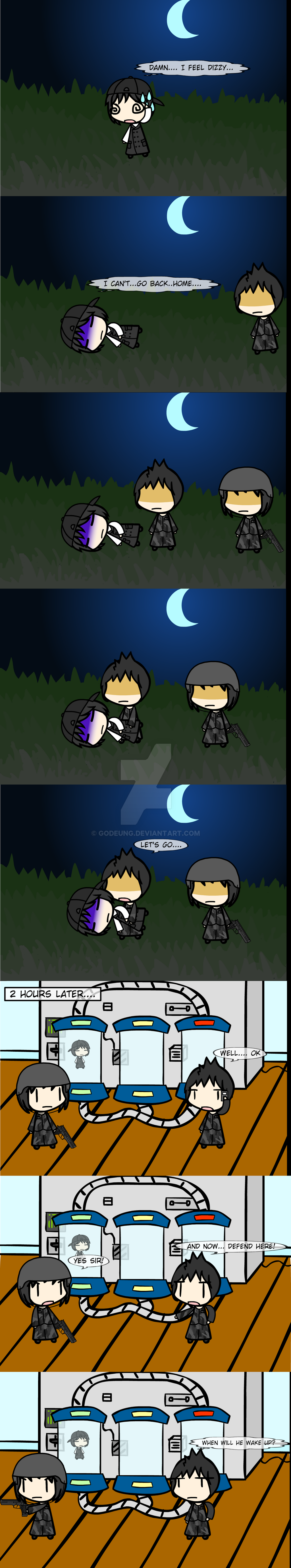 (walfas) A kidnapped man by Godeung