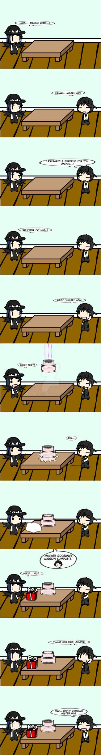 (walfas) Happy Birthday MiniWitch3. by Godeung