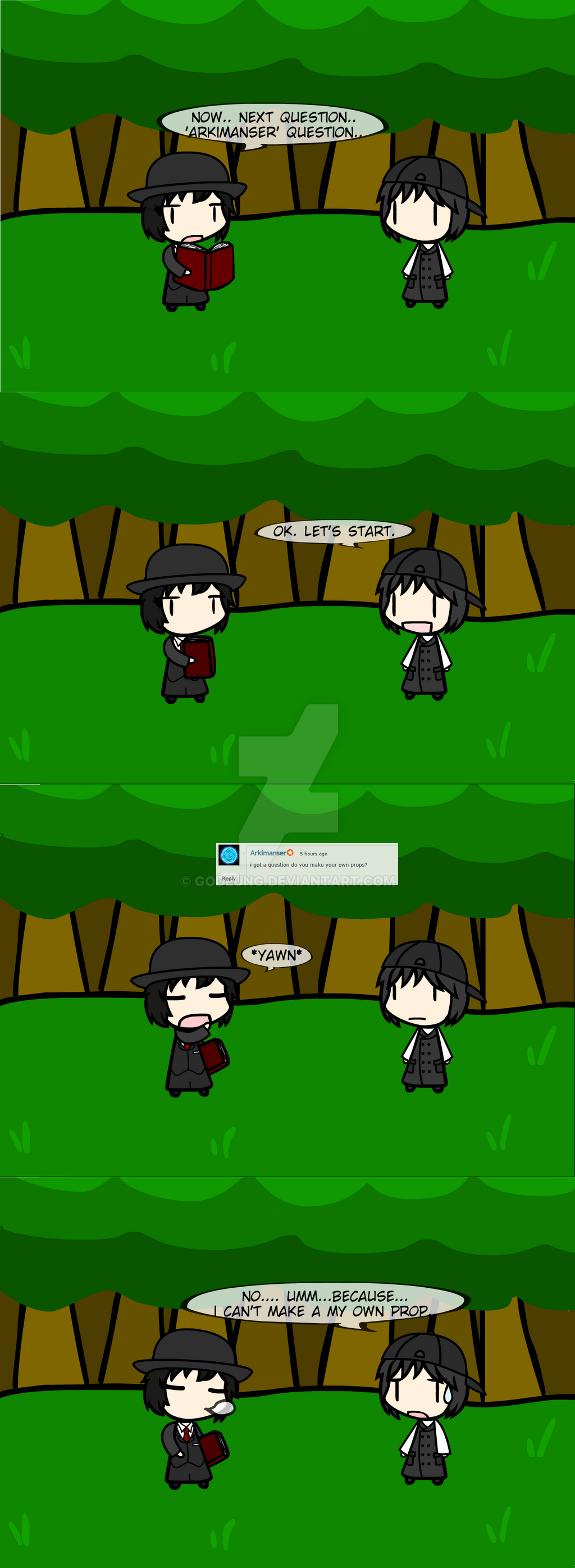 (walfas) New Q and A Ask me! 4 by Godeung