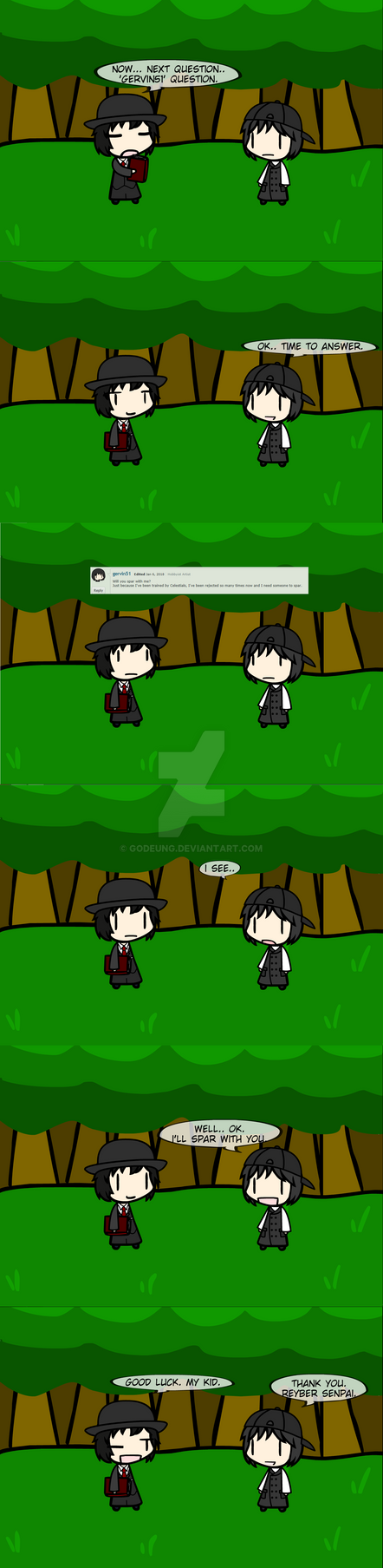(walfas) New Q and A Ask me! 6 by Godeung