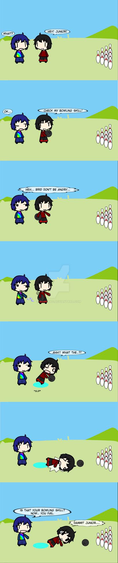 (walfas) Junior's prank by Godeung