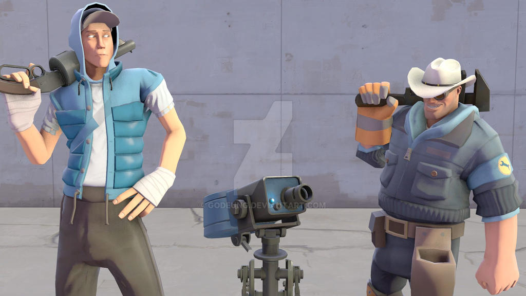 (SFM) Scout and Engi by Godeung