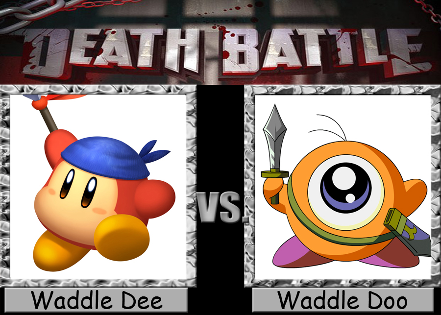 Death Battle: Waddle Dee Vs Waddle Doo by ... Waddle Dee And Waddle Doo