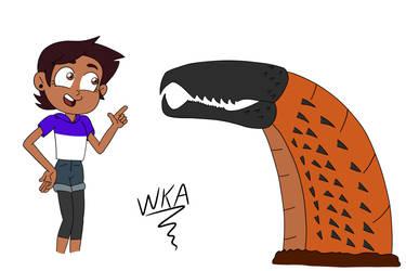 Luz meets a Graboid