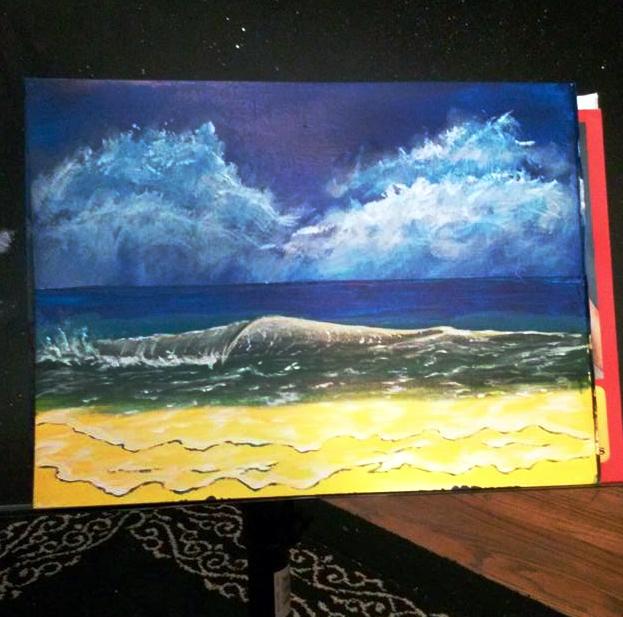 Beach Wave by DungeonmasterJim