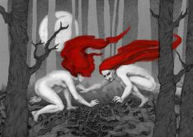 Red Hunting by LenkaSimeckova