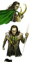 From sketchbook - Loki