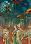 Underwater hall by LenkaSimeckova