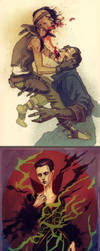 Dishonored doodles 2 by LenkaSimeckova