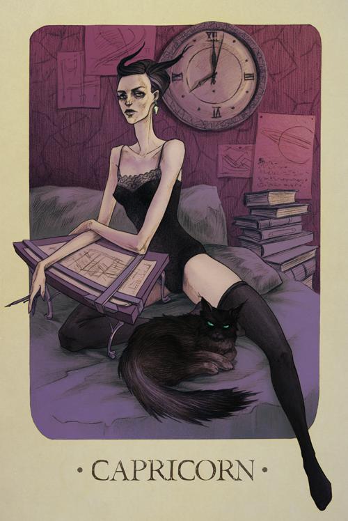 Zodiac - Capricorn by MadLittleClown