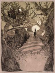 The Witch House by LenkaSimeckova