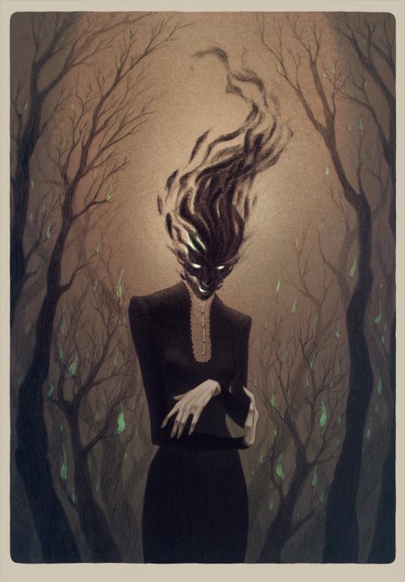 Ghosts by LenkaSimeckova