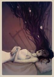 Sleep paralysis by LenkaSimeckova