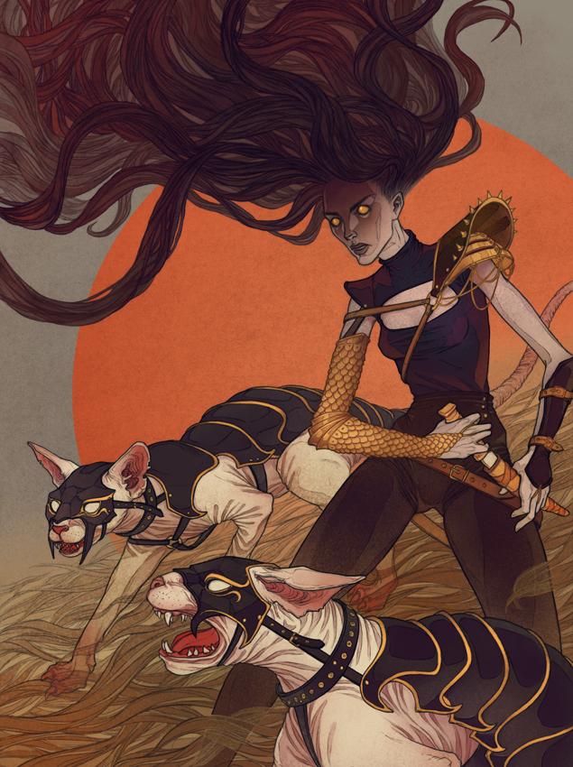 War Cats by MadLittleClown