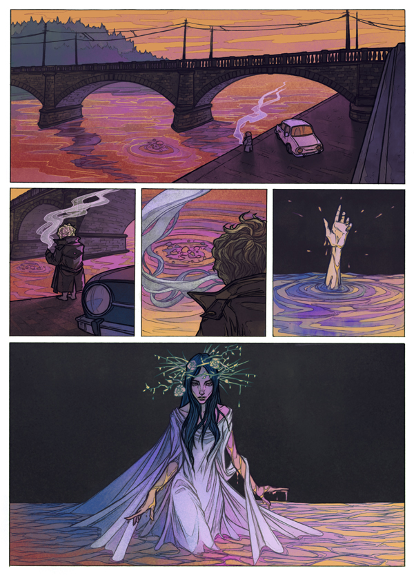 Rusalka by MadLittleClown