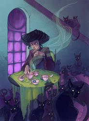 Cat Cafe by LenkaSimeckova