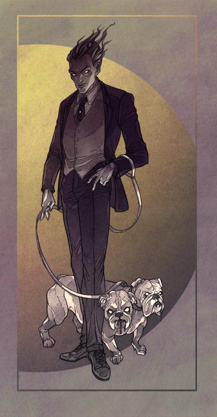 Bulldog by MadLittleClown