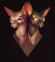 Kitties by LenkaSimeckova