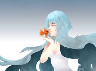 fishy kiss by Bitschi