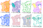 More soft color adopts