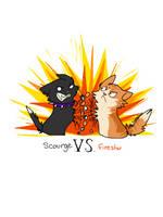 Scourge Vs Firestar by azulJackal