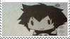 Kuro Chan Stamp by xMegane