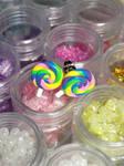 Lollipop Stud Earrings