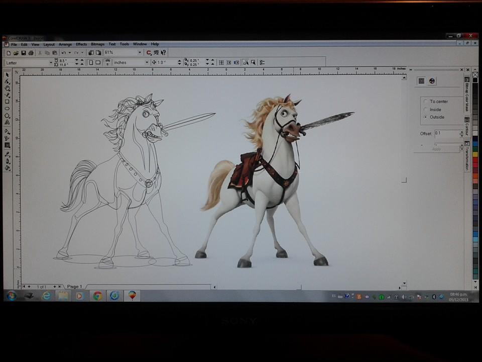 Maximus - Tangled movie - Disney - Horse - Character profile ...