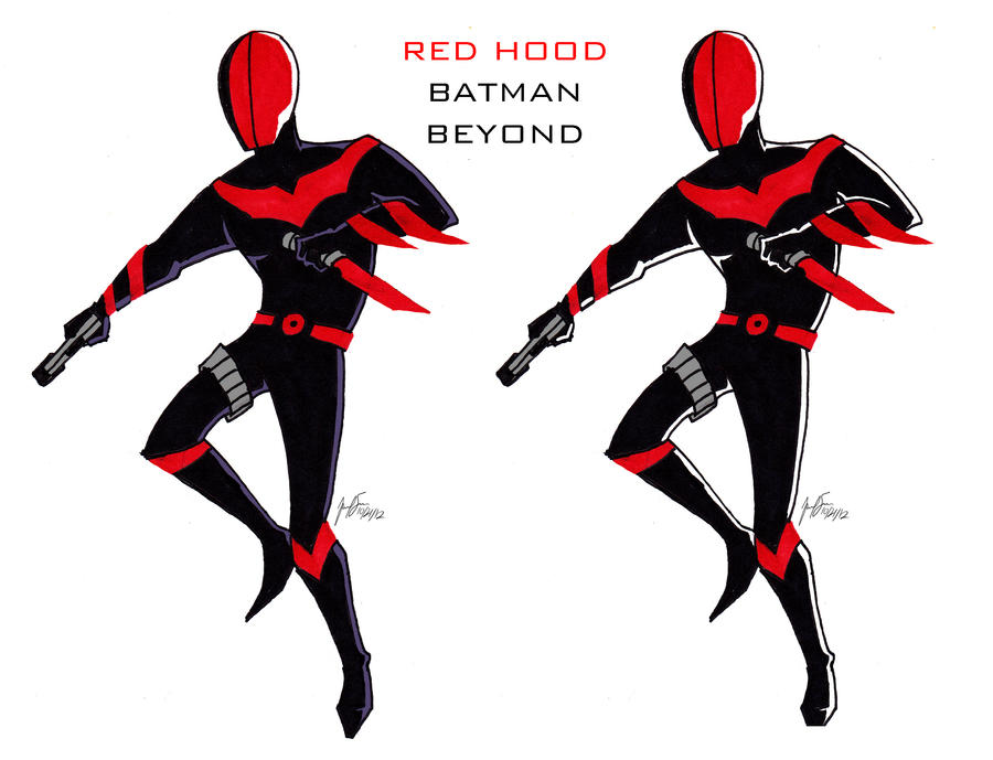 Red Hood Beyond by cat-gray-and-me78 on DeviantArt