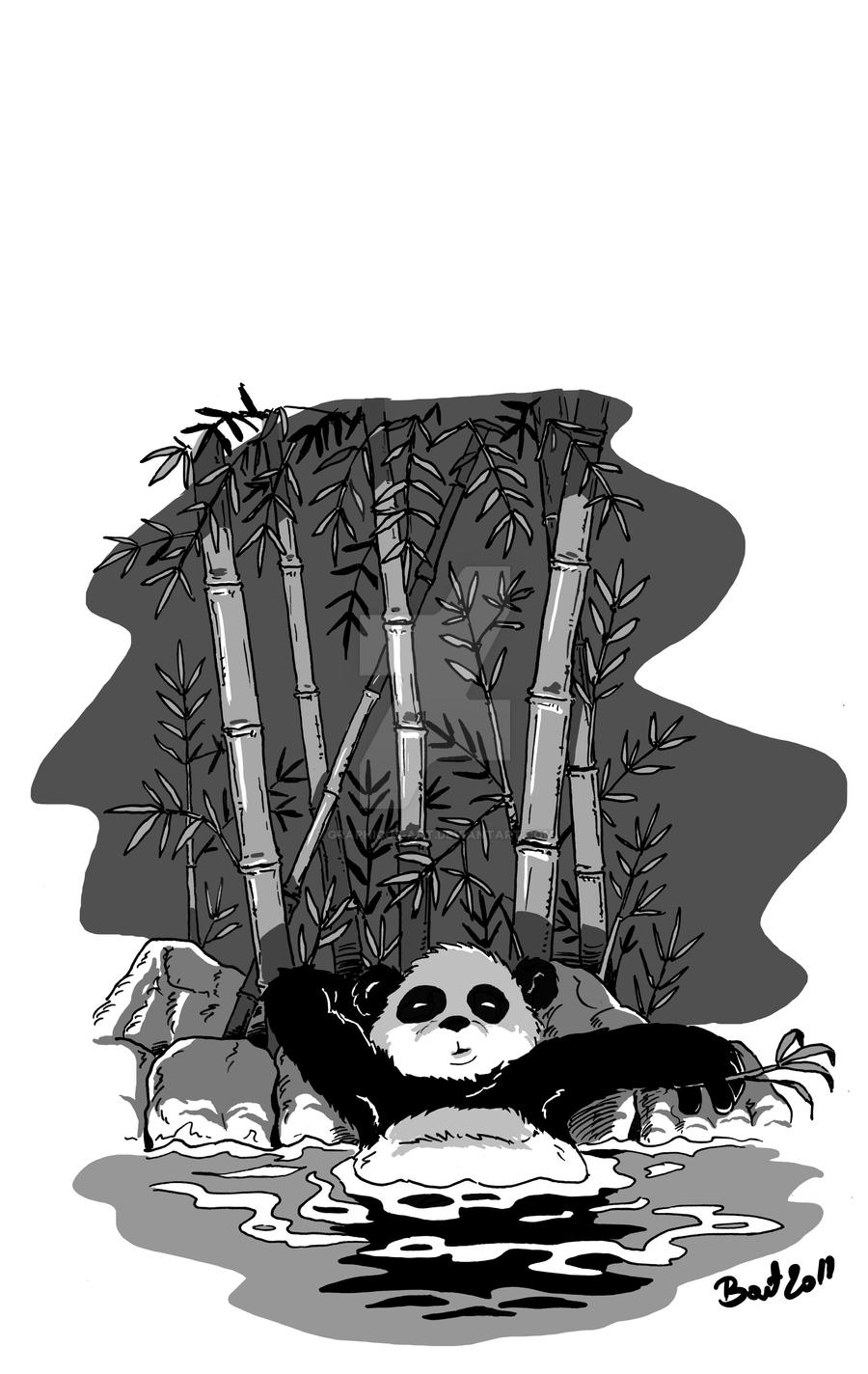 panda by graphicus-art