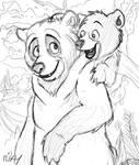 Brother Bear -- Kenai and Koda